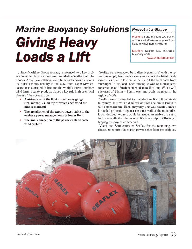 Marine Technology Magazine, page 53,  Jun 2012 heavy gauge steel monopiles