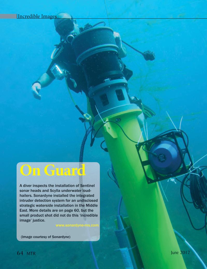 Marine Technology Magazine, page 64,  Jun 2012 Sentinel
