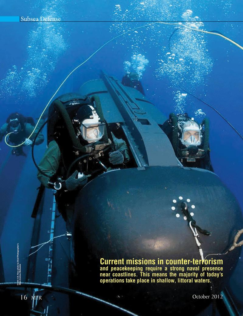 Marine Technology Magazine, page 16,  Oct 2012 United States Navy