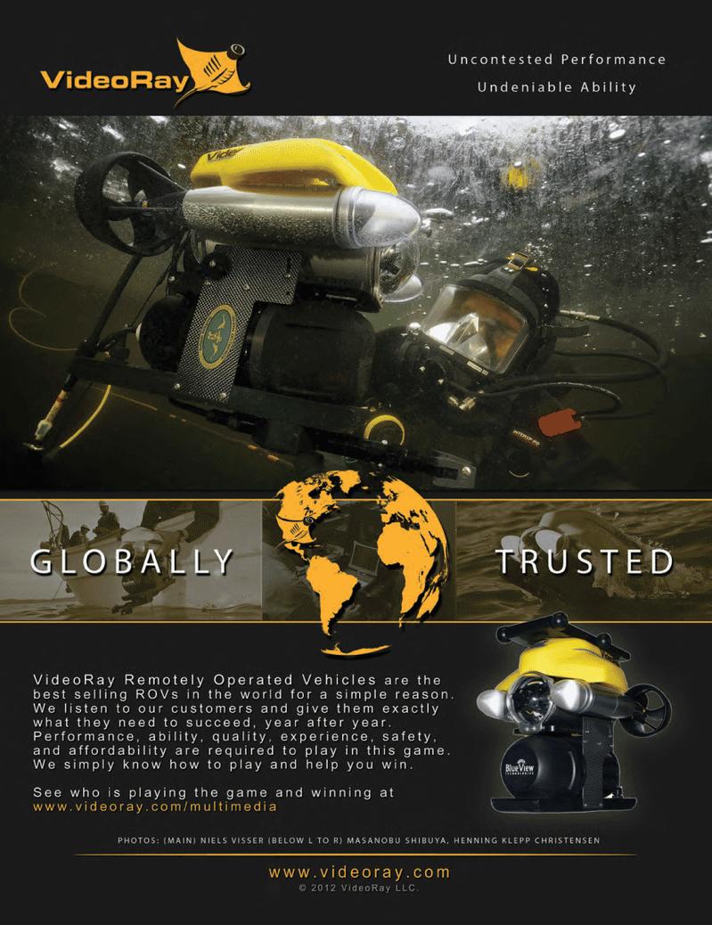Marine Technology Magazine, page 2nd Cover,  Oct 2012