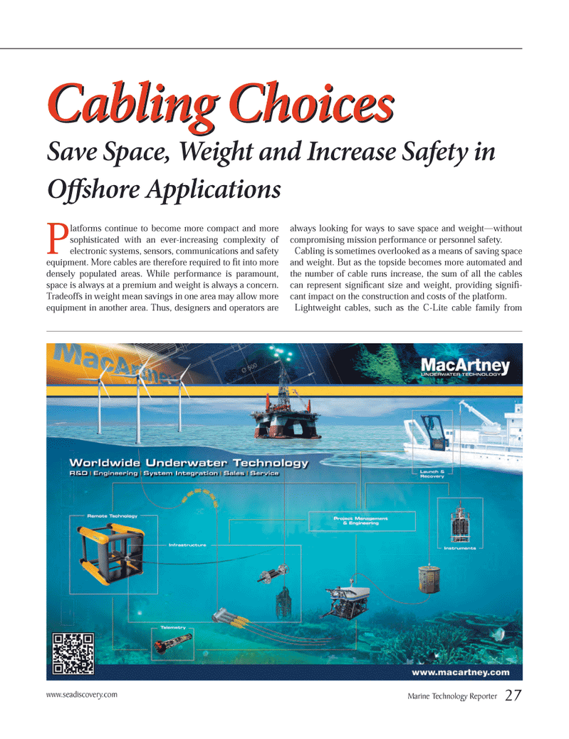 Marine Technology Magazine, page 27,  Oct 2012 electronic systems