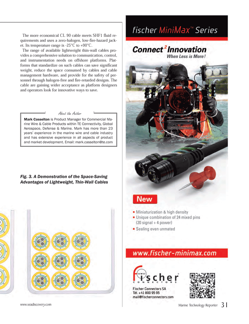 Marine Technology Magazine, page 31,  Oct 2012