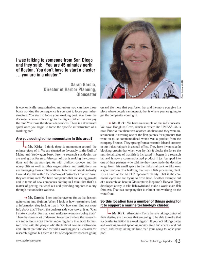 Marine Technology Magazine, page 43,  Oct 2012 FDA