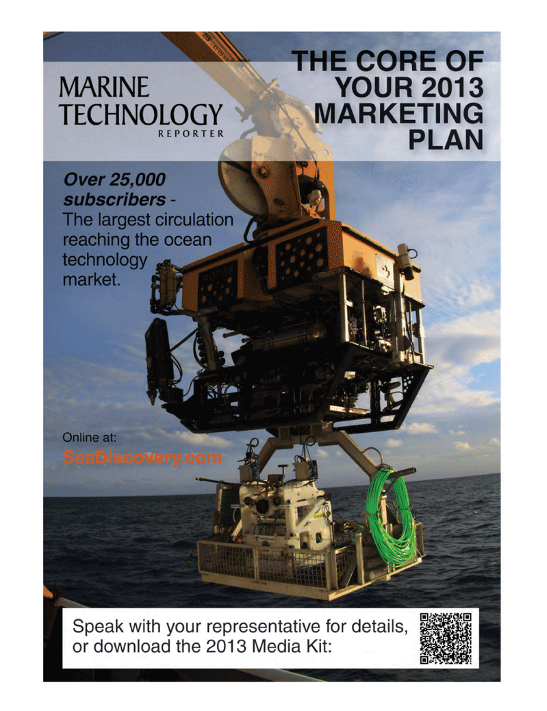 Marine Technology Magazine, page 55,  Oct 2012