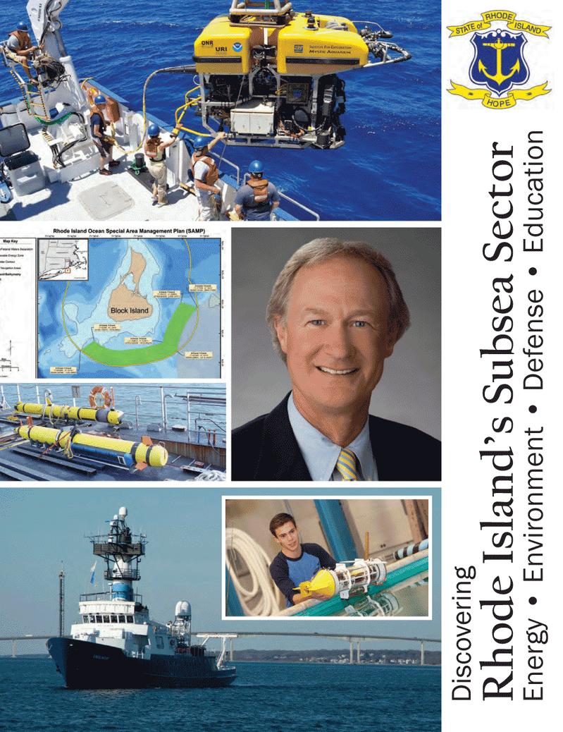 Marine Technology Magazine, page 33,  Mar 2013 Rhode Island