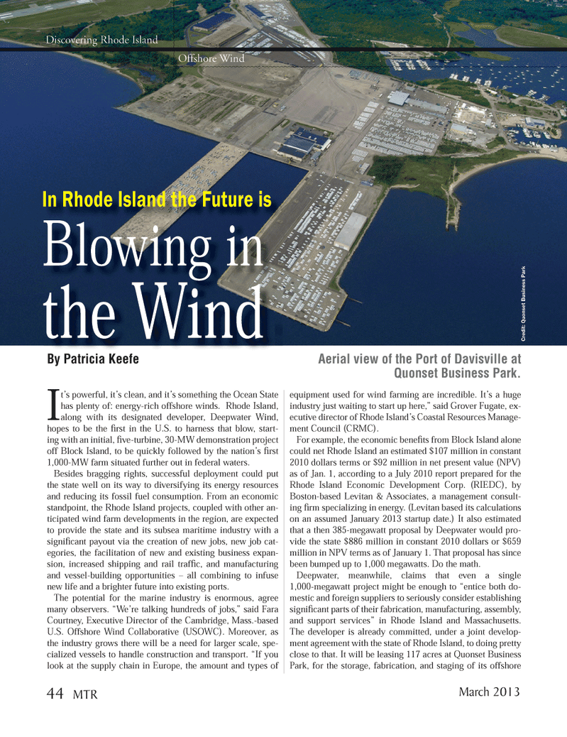 Marine Technology Magazine, page 44,  Mar 2013 Grover Fugate