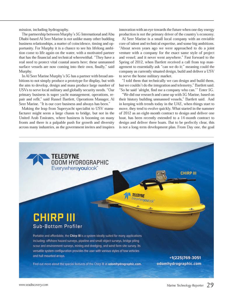 goal Marine Technology, Marine Technology Magazine May 2013 #29