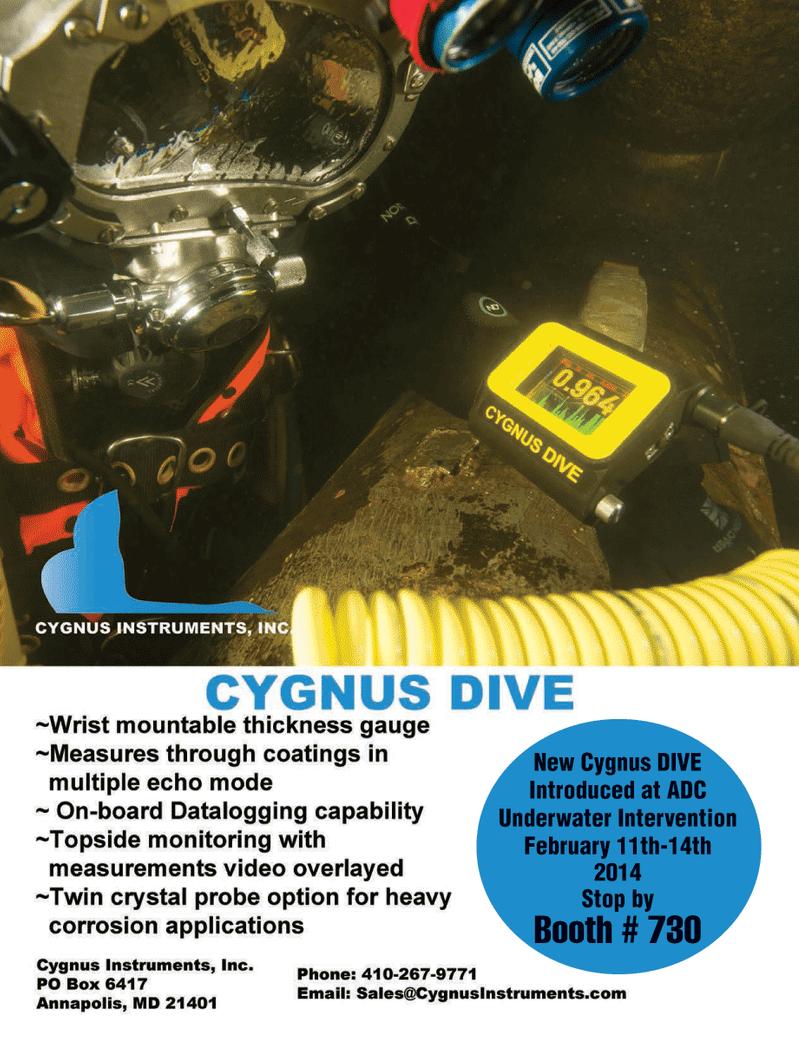 Marine Technology Magazine, page 11,  Nov 2013 ADC