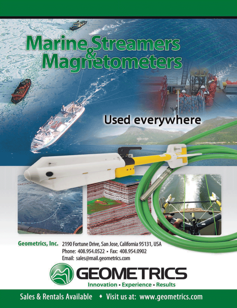 Marine Technology Magazine, page 2nd Cover,  Nov 2013