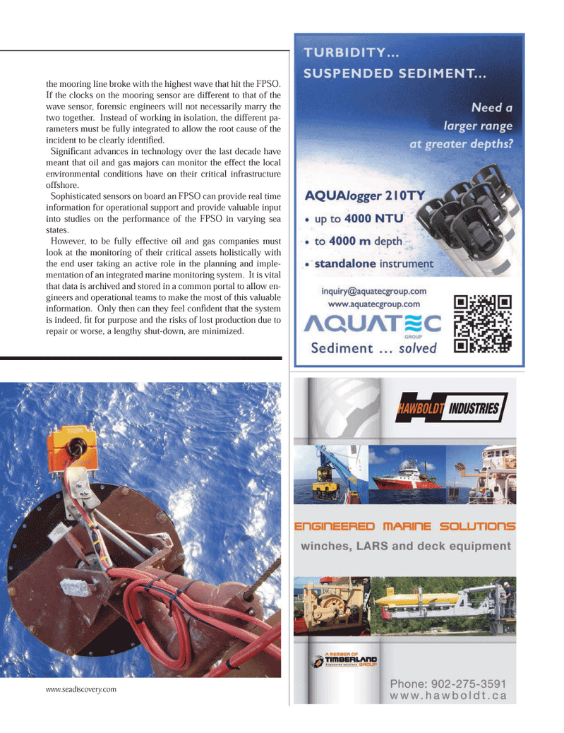 Marine Technology Magazine, page 45,  Nov 2013 oil and gas majors