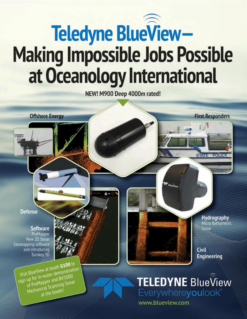 Marine Technology Magazine, page 23,  Mar 2014