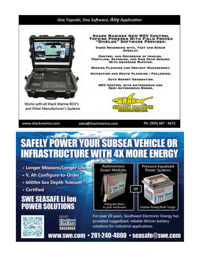 Marine Technology Magazine, page 35,  Mar 2014