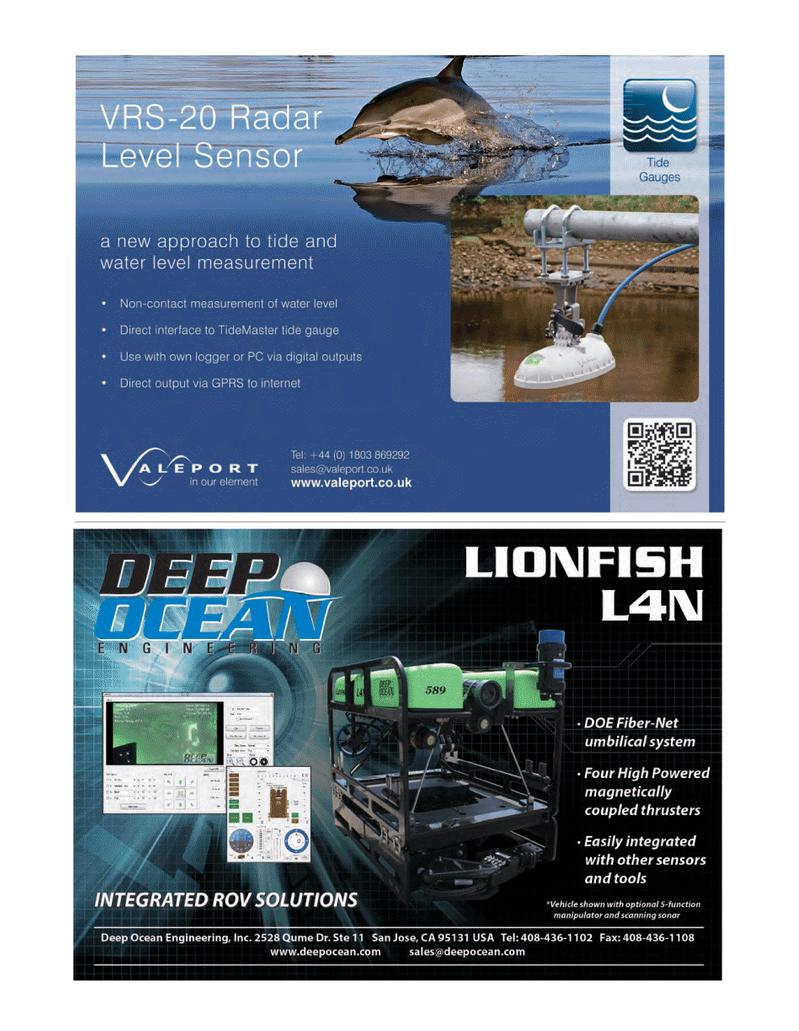 Marine Technology Magazine, page 45,  Mar 2014