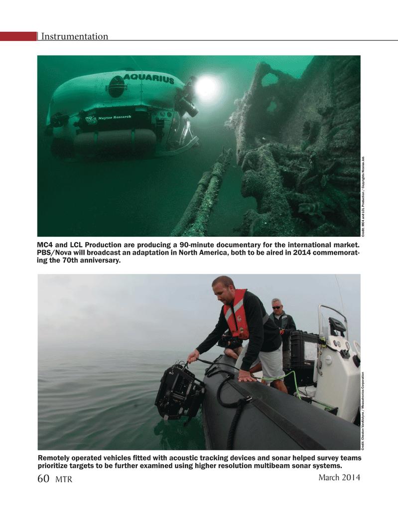 Marine Technology Magazine, page 60,  Mar 2014 North America