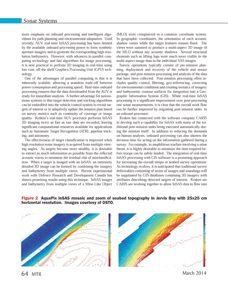 Marine Technology Magazine, page 64,  Mar 2014 Graphics Processing Unit