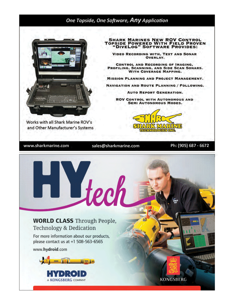 Marine Technology Magazine, page 11,  May 2014