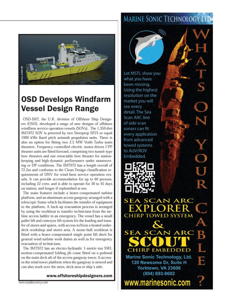 Marine Technology Magazine, page 15,  May 2014 United Kingdom