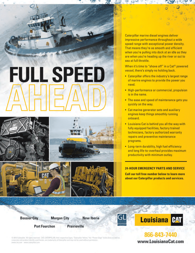 Marine Technology Magazine, page 1,  May 2014
