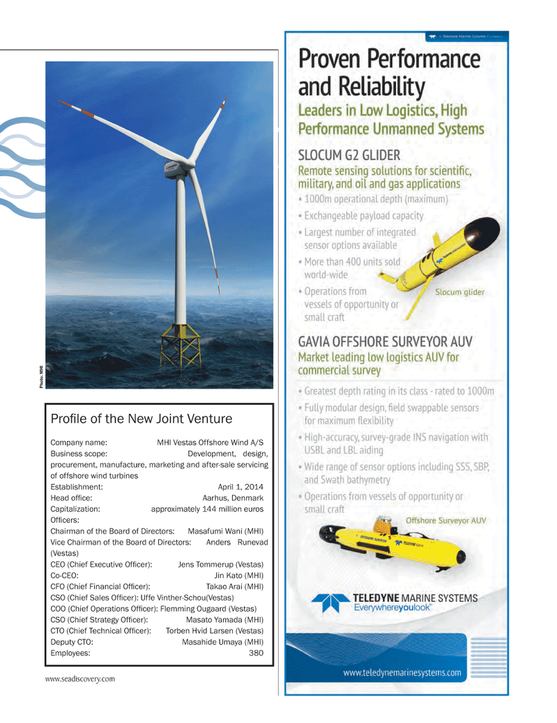 Marine Technology Magazine, page 35,  May 2014 Jens Tommerup