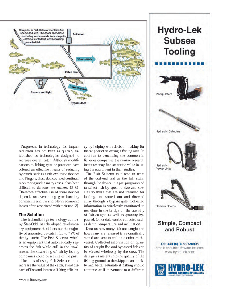 Marine Technology Magazine, page 37,  May 2014 turtle exclusion devices
