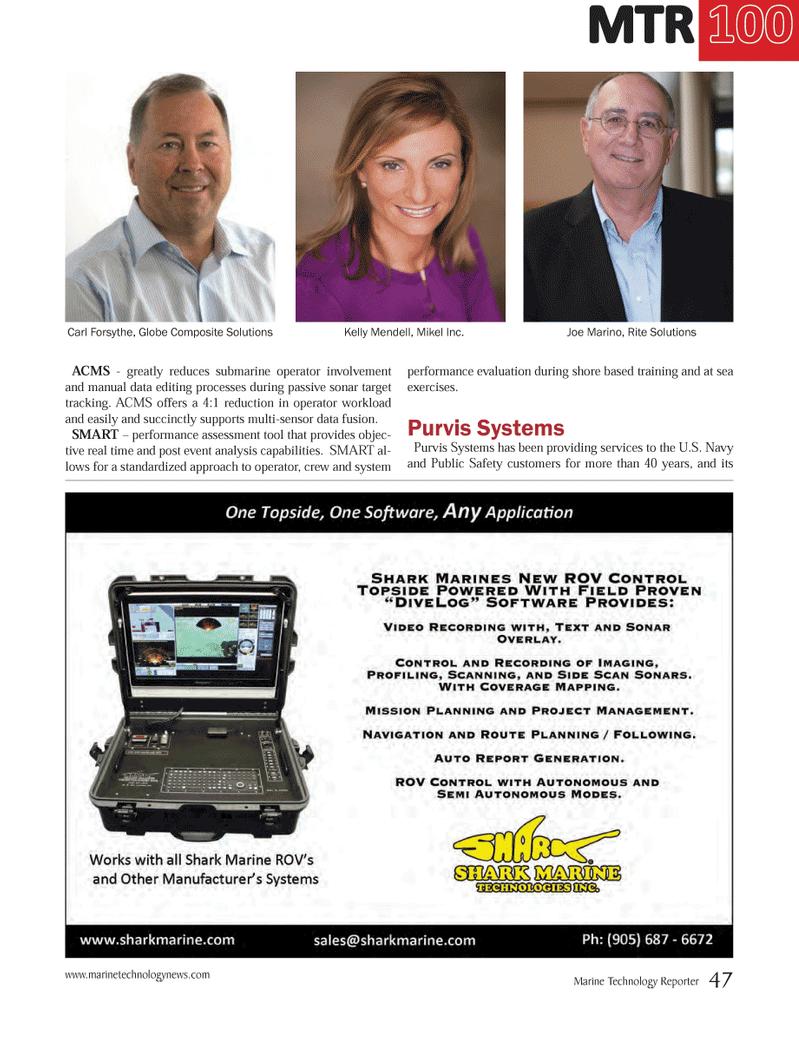 Marine Technology Magazine, page 47,  Jul 2014