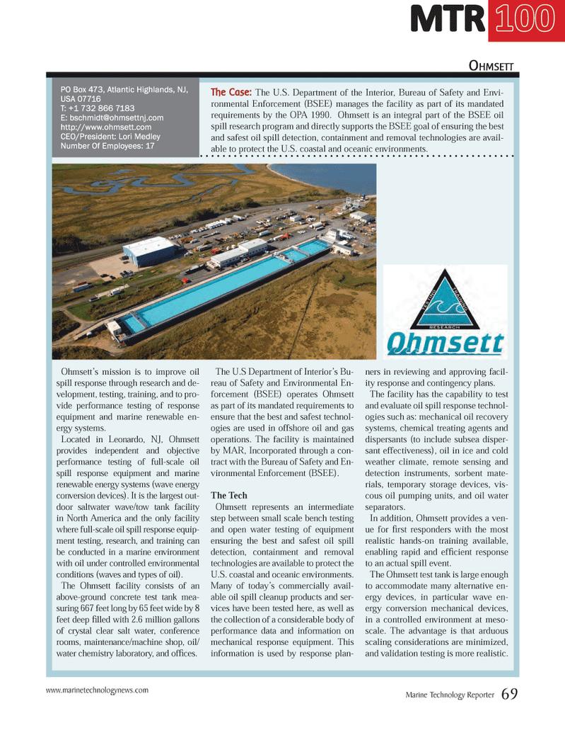 Marine Technology Magazine, page 69,  Jul 2014