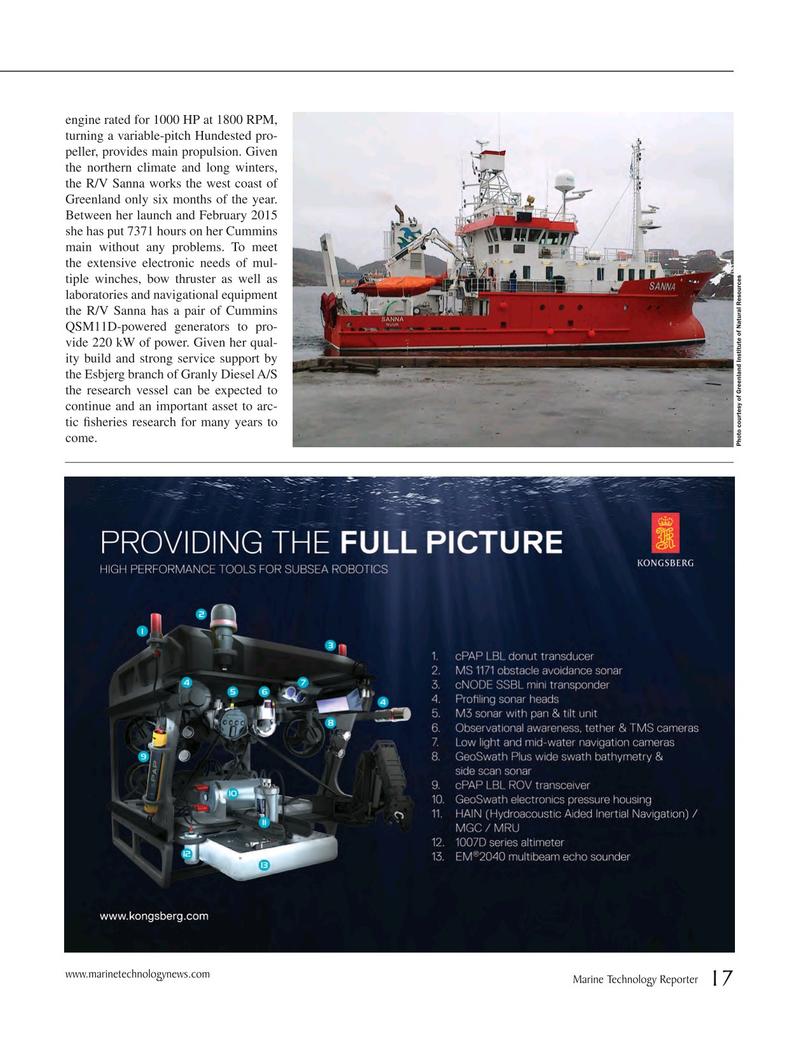 Marine Technology Magazine, page 17,  Mar 2015