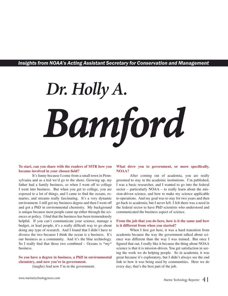 Marine Technology Magazine, page 41,  Mar 2015