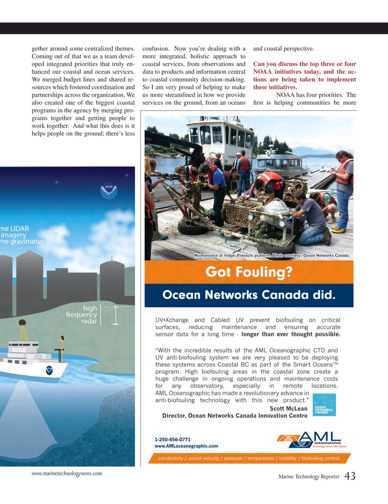 Marine Technology Magazine, page 43,  Mar 2015