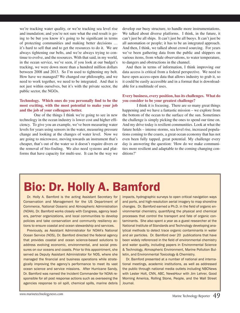 Marine Technology Magazine, page 49,  Mar 2015