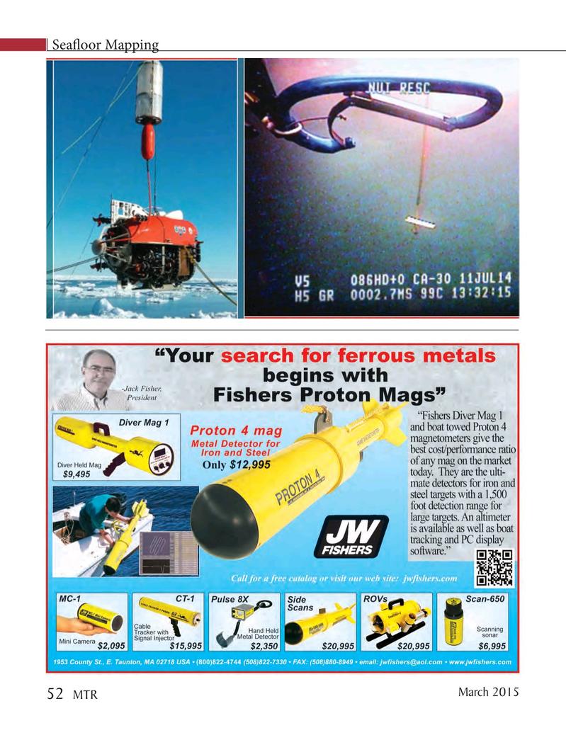 Marine Technology Magazine, page 52,  Mar 2015