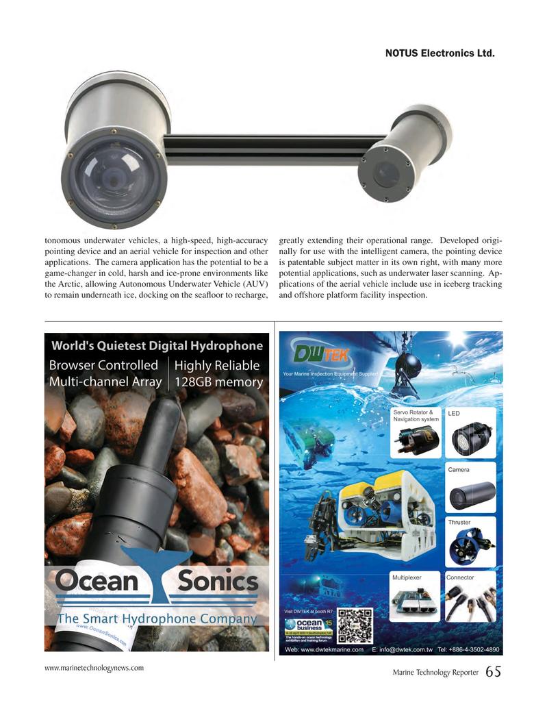 Marine Technology Magazine, page 65,  Mar 2015