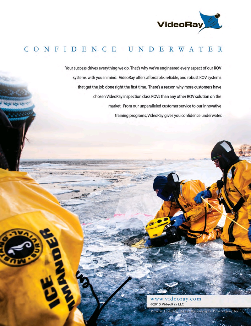 Marine Technology Magazine, page 2nd Cover,  May 2015