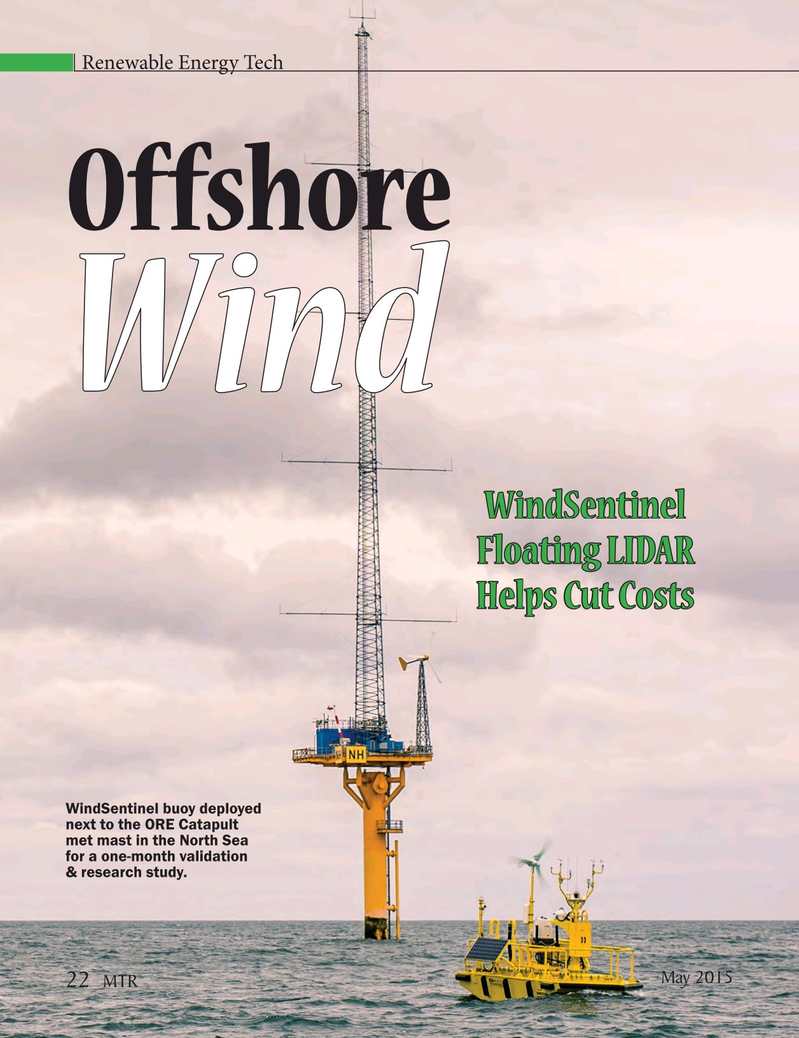 Marine Technology Magazine, page 22,  May 2015