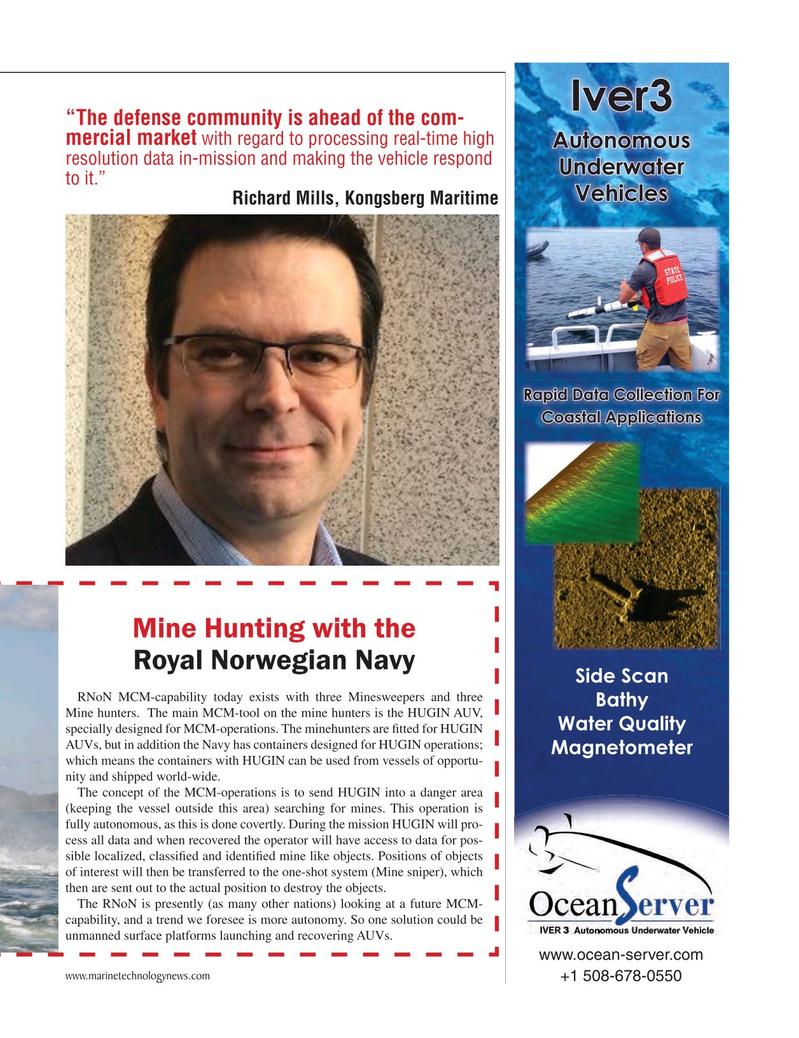 Marine Technology Magazine, page 31,  May 2015