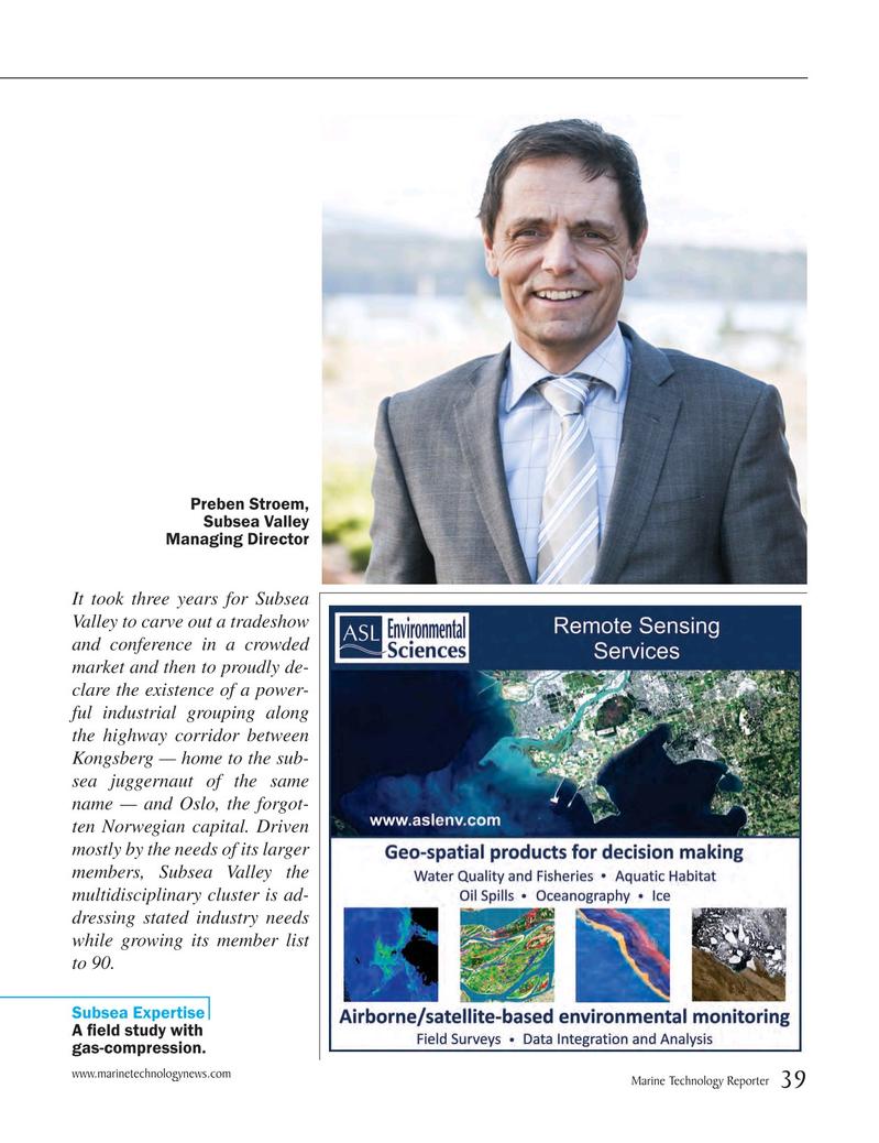 Marine Technology Magazine, page 39,  May 2015
