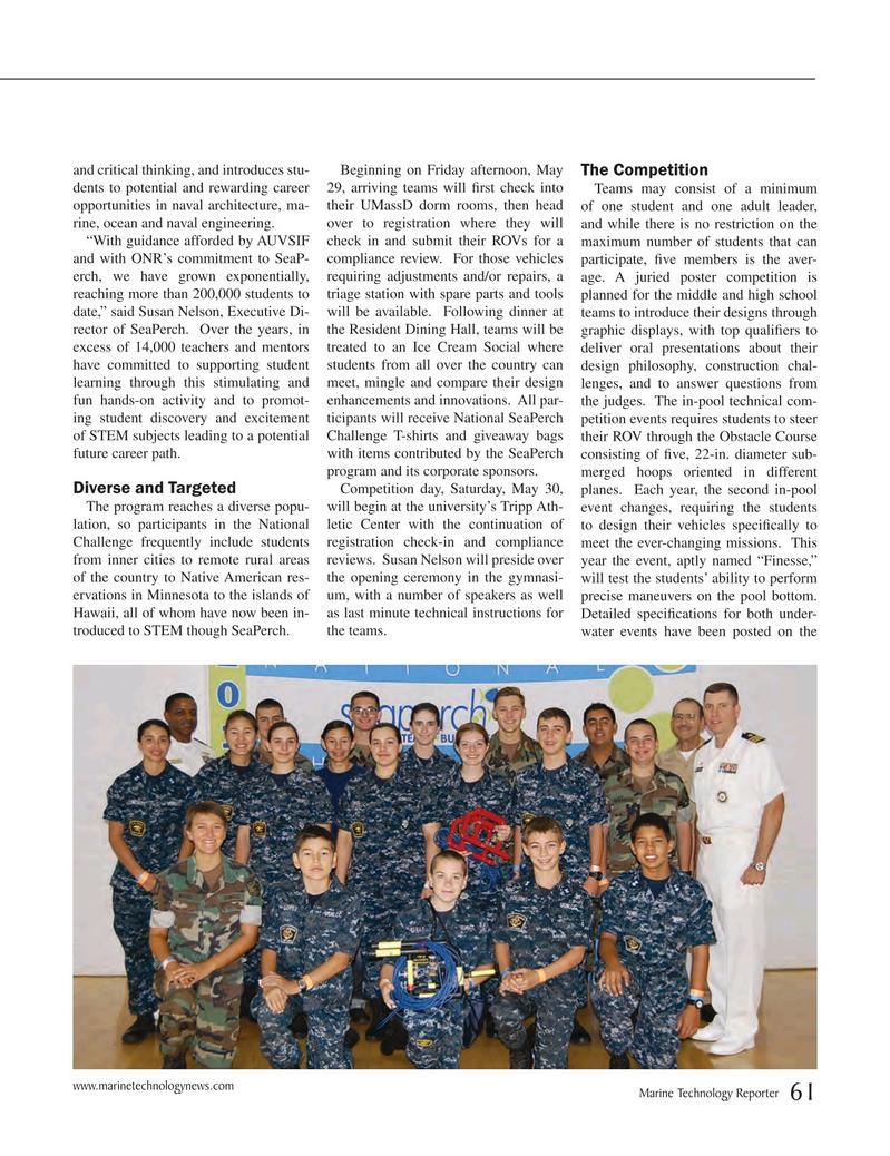 Marine Technology Magazine, page 61,  May 2015