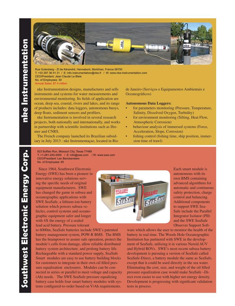 Marine Technology Magazine, page 77,  Jul 2015