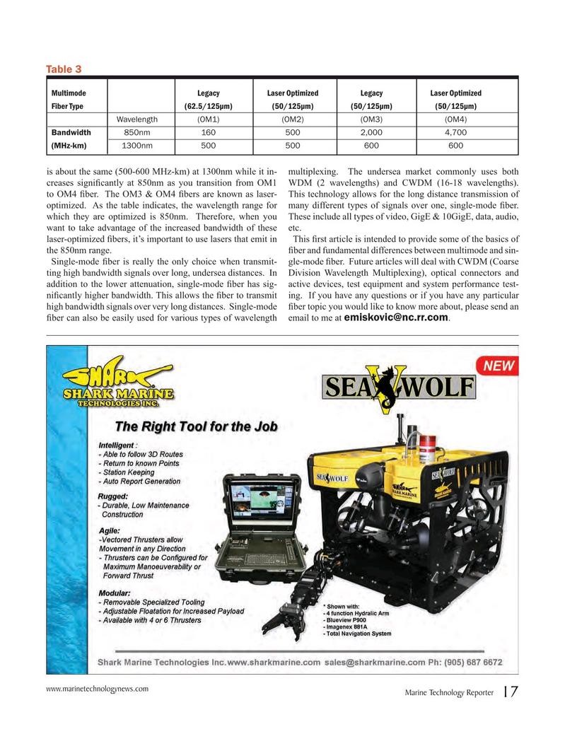 Marine Technology Magazine, page 17,  Jan 2016