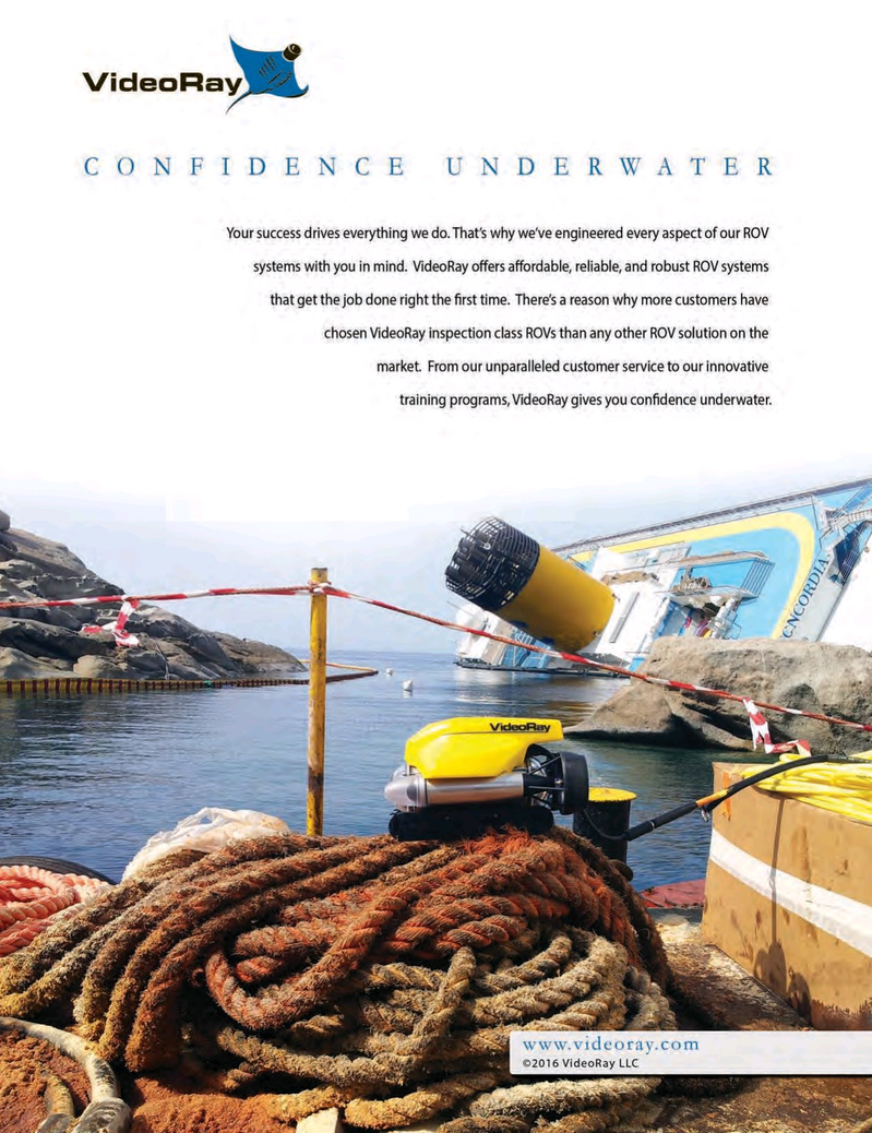 Marine Technology Magazine, page 2nd Cover,  Mar 2016