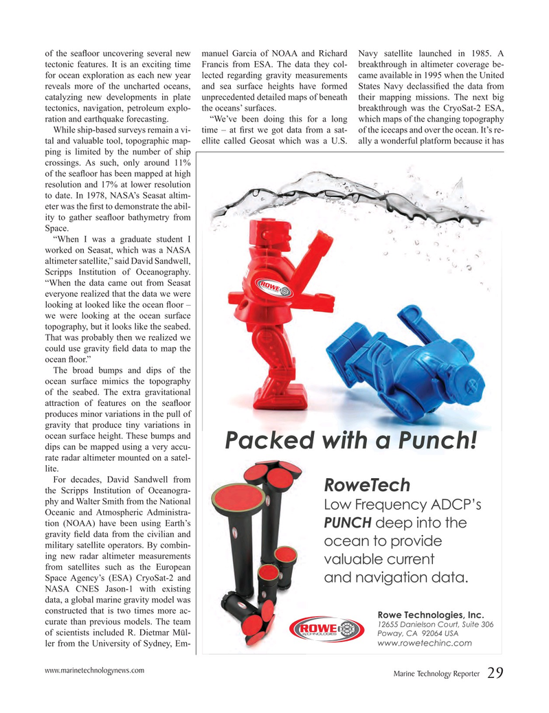 Marine Technology Magazine, page 29,  Mar 2016