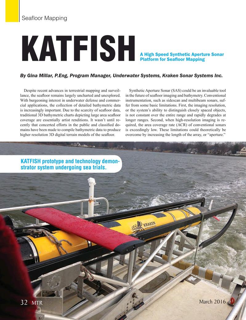 Marine Technology Magazine, page 32,  Mar 2016