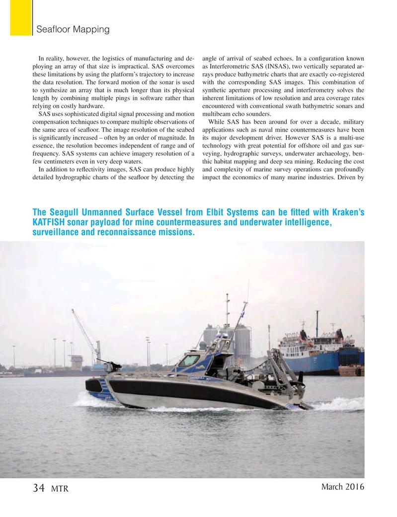 Marine Technology Magazine, page 34,  Mar 2016
