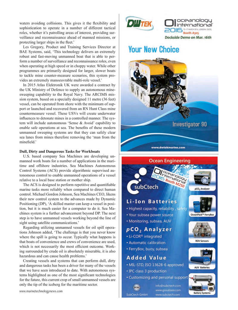 Marine Technology Magazine, page 51,  Mar 2016