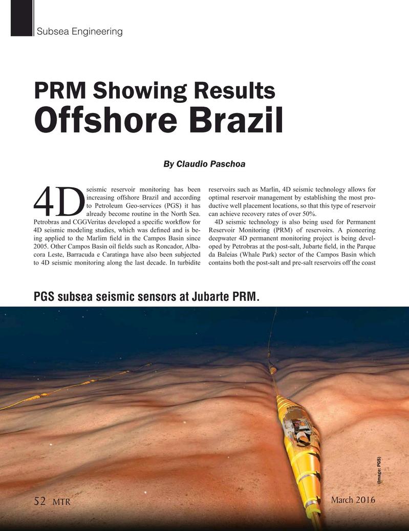 Marine Technology Magazine, page 52,  Mar 2016