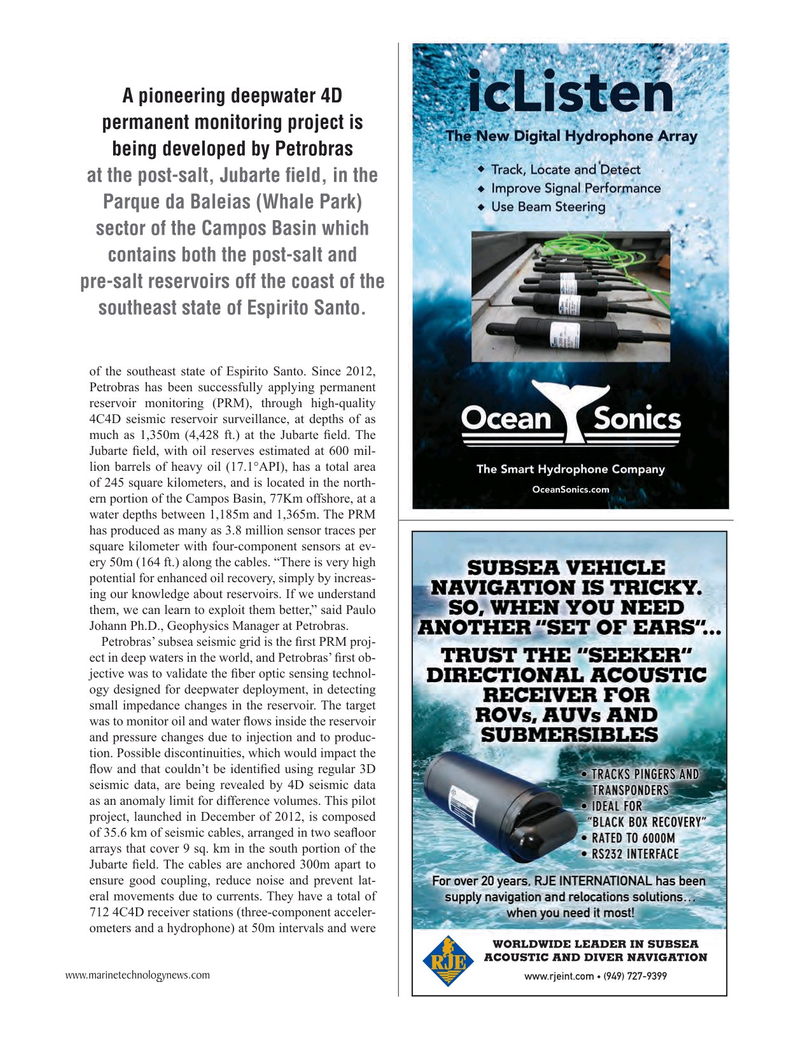 Marine Technology Magazine, page 53,  Mar 2016