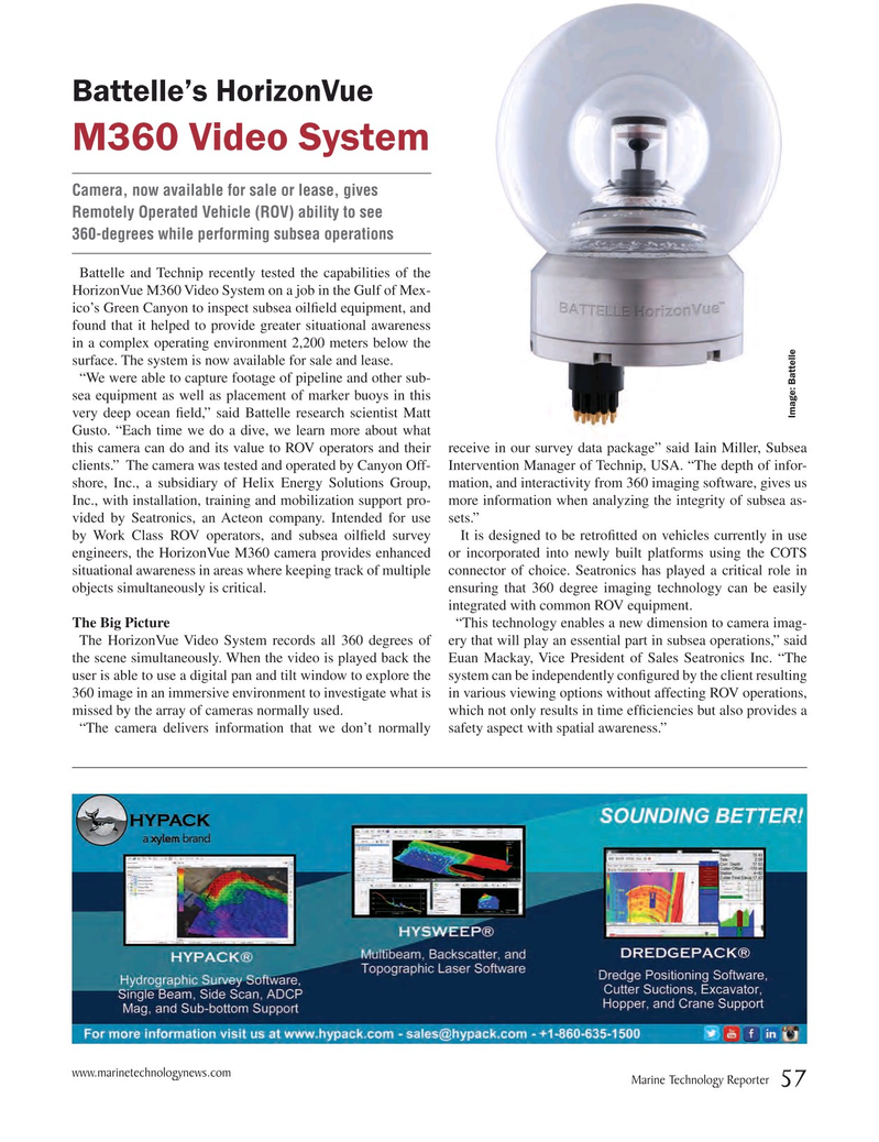 Marine Technology Magazine, page 57,  Mar 2016