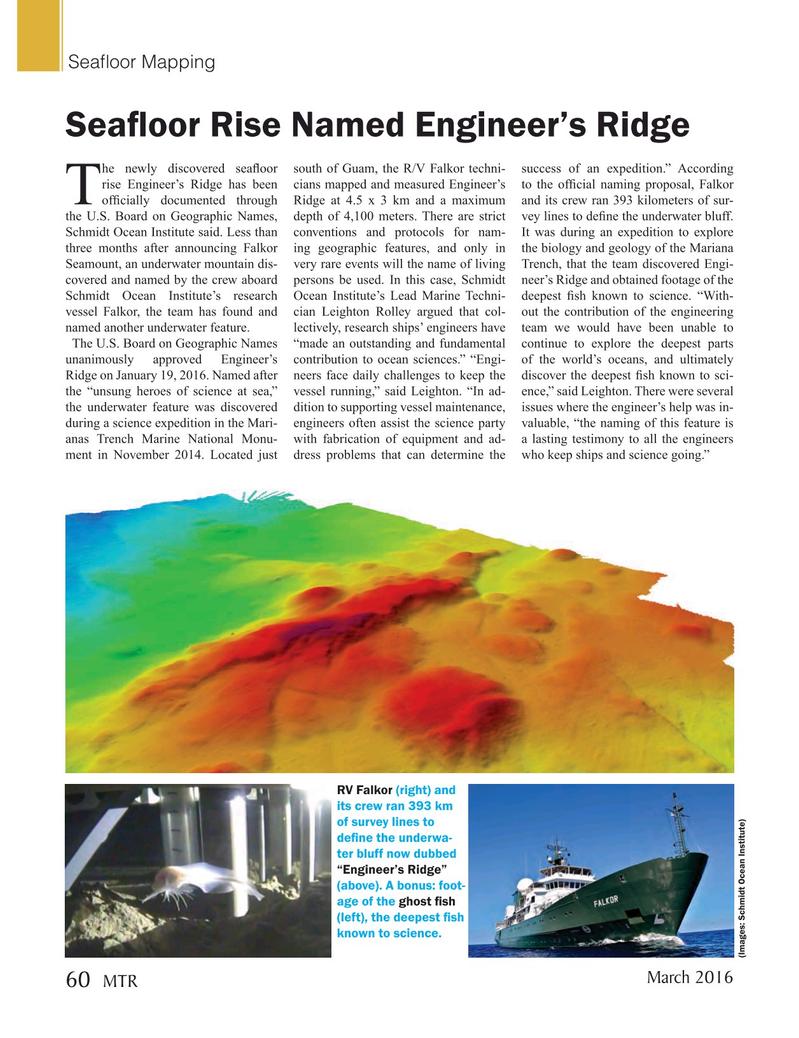 Marine Technology Magazine, page 60,  Mar 2016