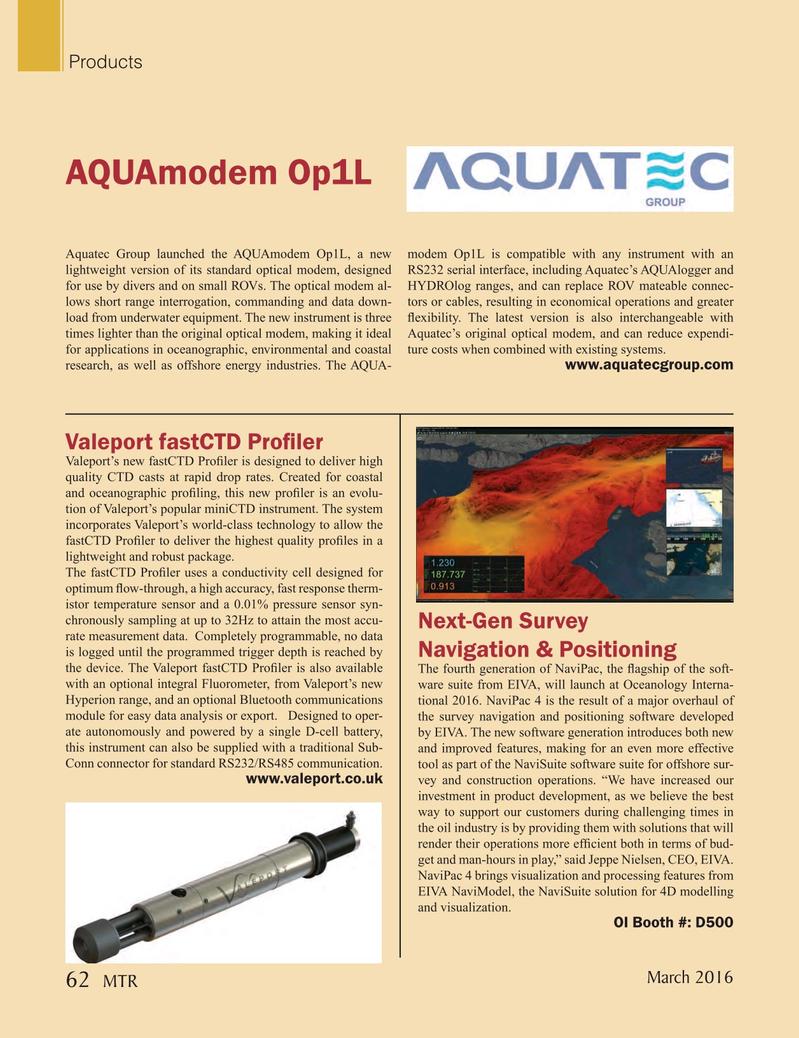 Marine Technology Magazine, page 62,  Mar 2016