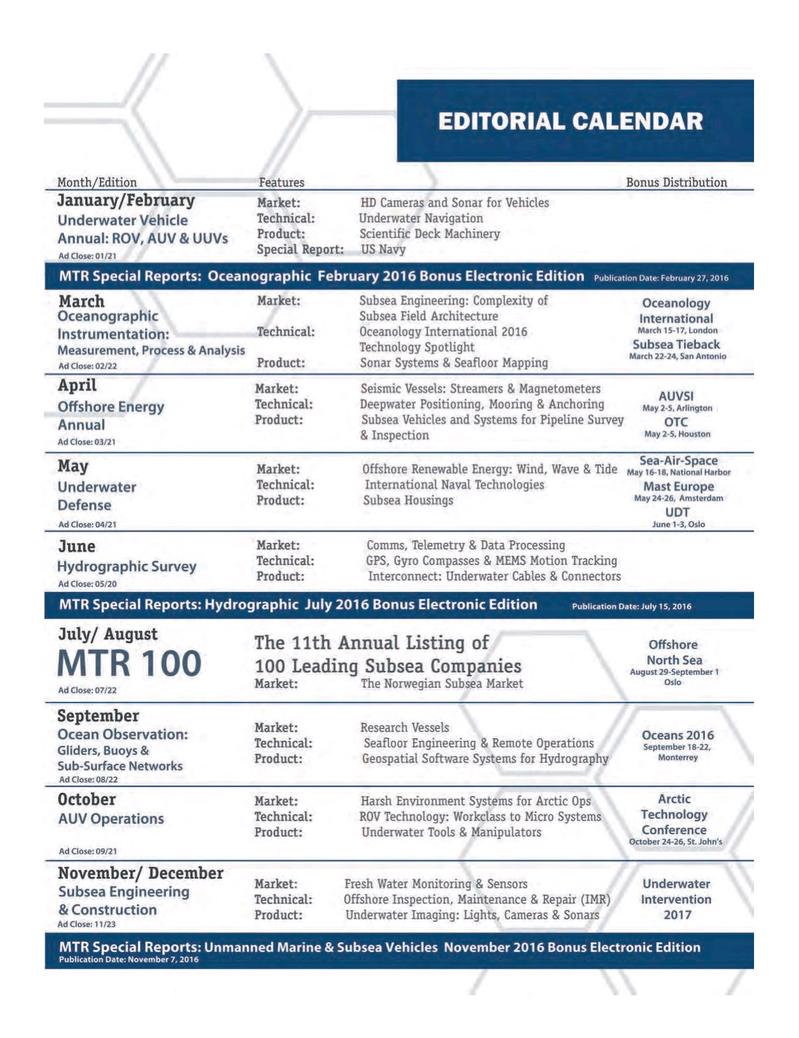 Marine Technology Magazine, page 63,  Mar 2016